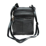 Leather Purse-Black