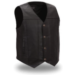 Mens Soft Milled Leather