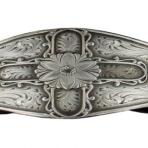 Montana Silver Gun Metal Cross Bracelet