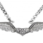 Montana Silver Lift you up Winged Necklace