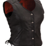 Womens Soft Milled Cow  Vest